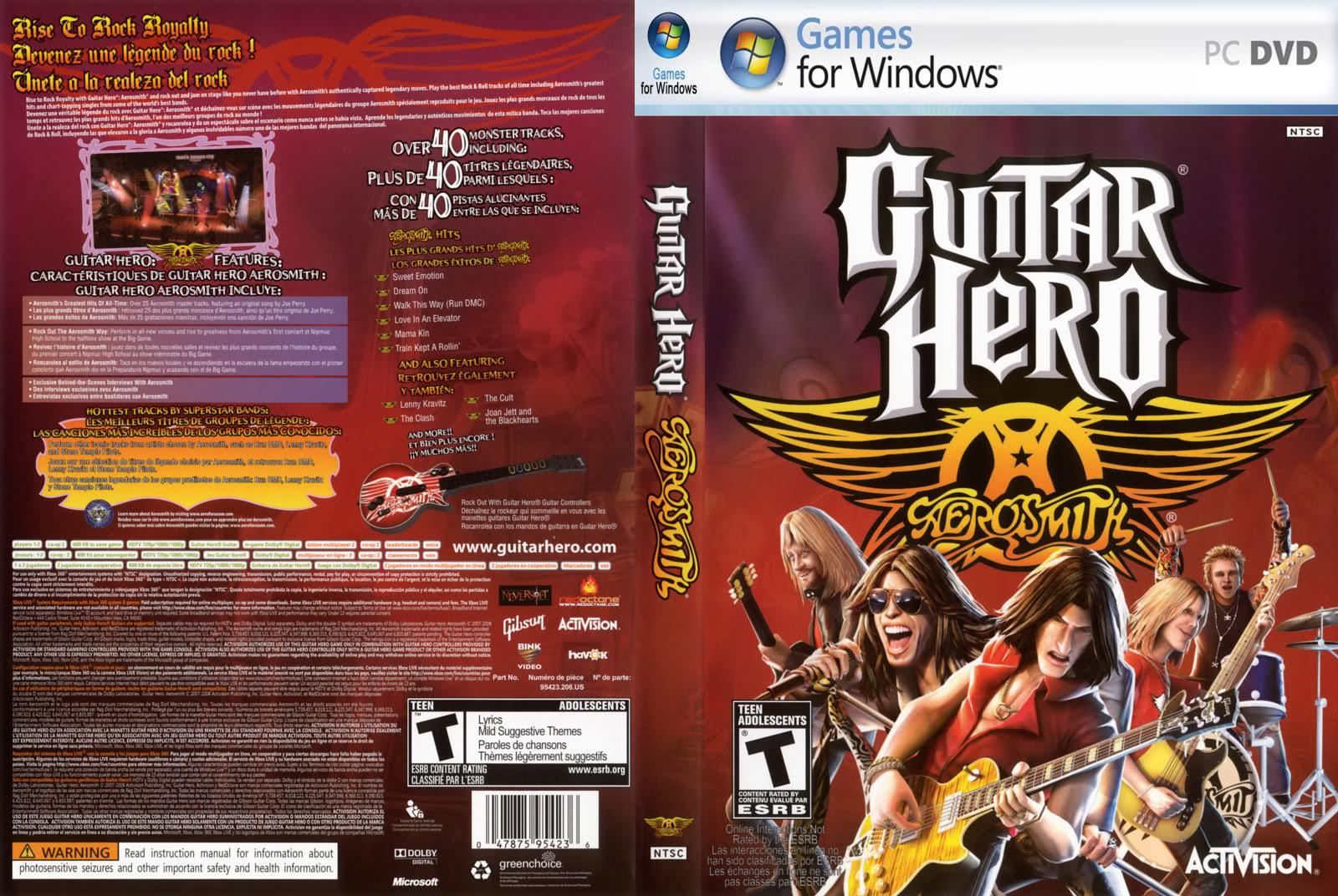 musicas para guitar hero aerosmith pc