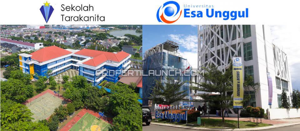Sekolah Tarakanita dan Universitas Esa Unggul CitraRaya