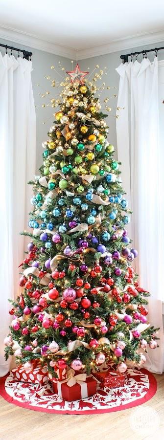 Un árbol de mil colores