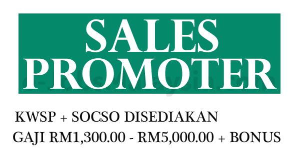 Jawatan Kosong Terbuka Sebagai Sales Promoter