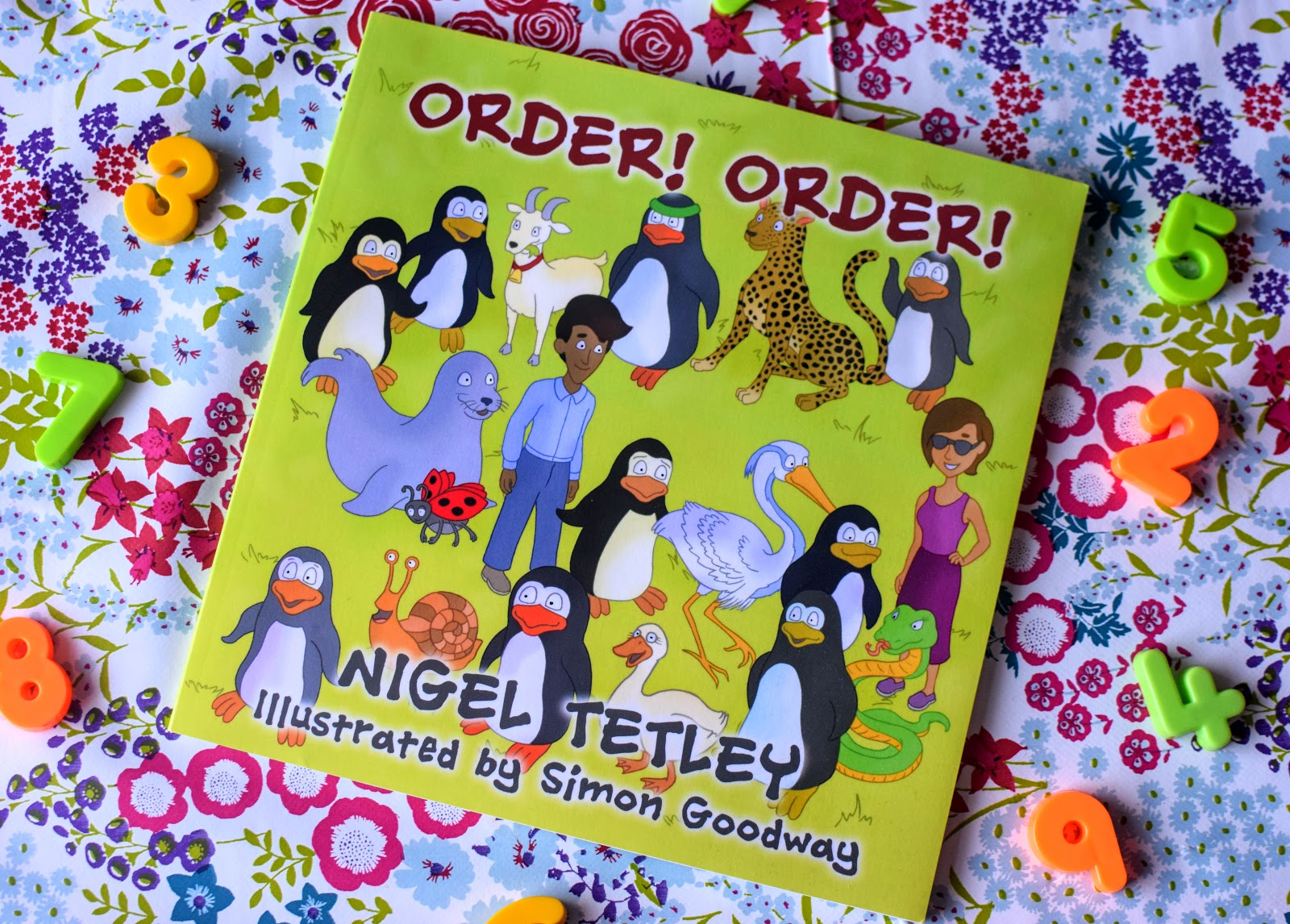 ", Book Review:  ""Order! Order"" by Nigel Tetley Makes Learning Maths Fun"