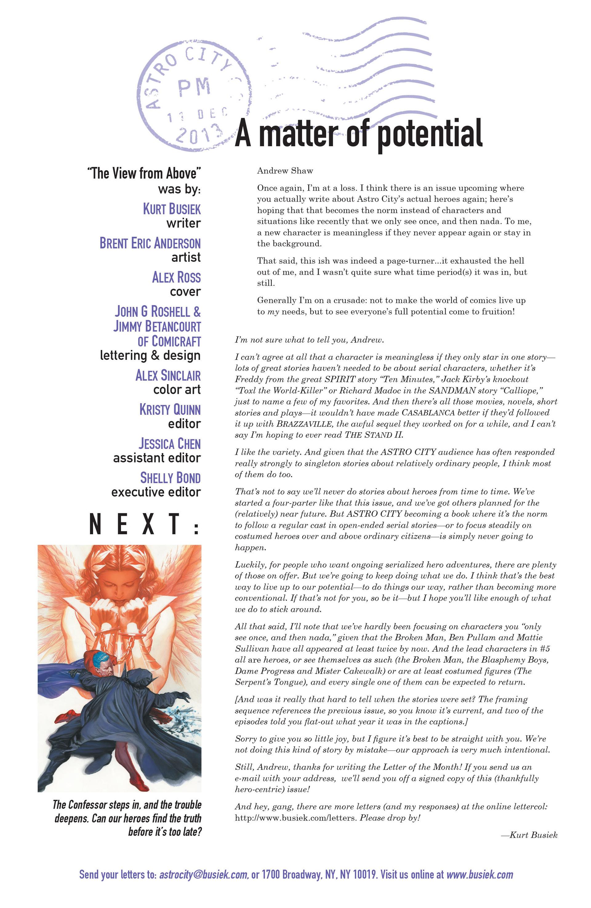 Read online Astro City comic -  Issue #7 - 26