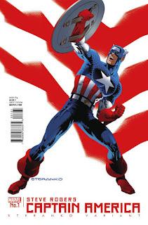 Captain America: Steve Rogers #1 - Steranko Variant