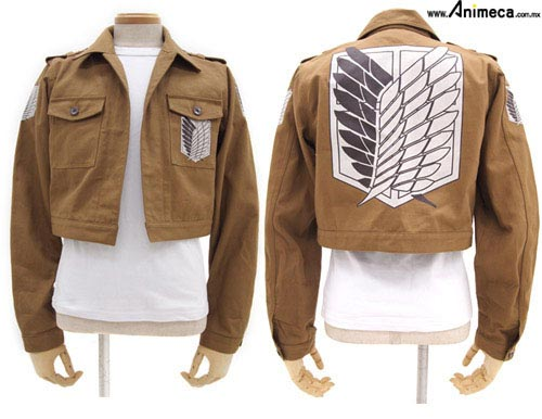 CHAMARRA Attack on Titan Short Ver. Shingeki no Kyojin