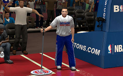 NBA 2K13 Janitor Crowd Fix