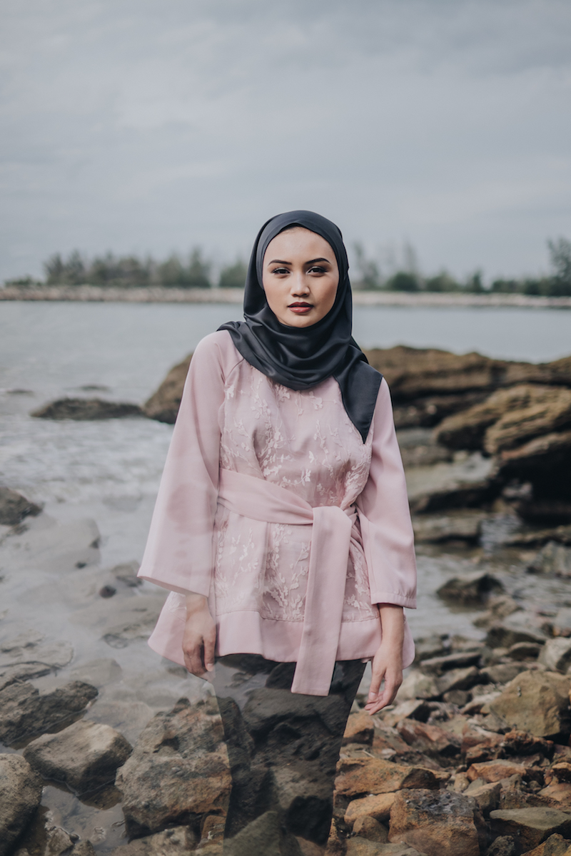 Brunei Life & Style Blogger, Bash Harry of Hey Bash discusses letting go in a collaboration shoot with Ejam Masle