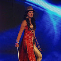 Lakshmi rai dancing on stage