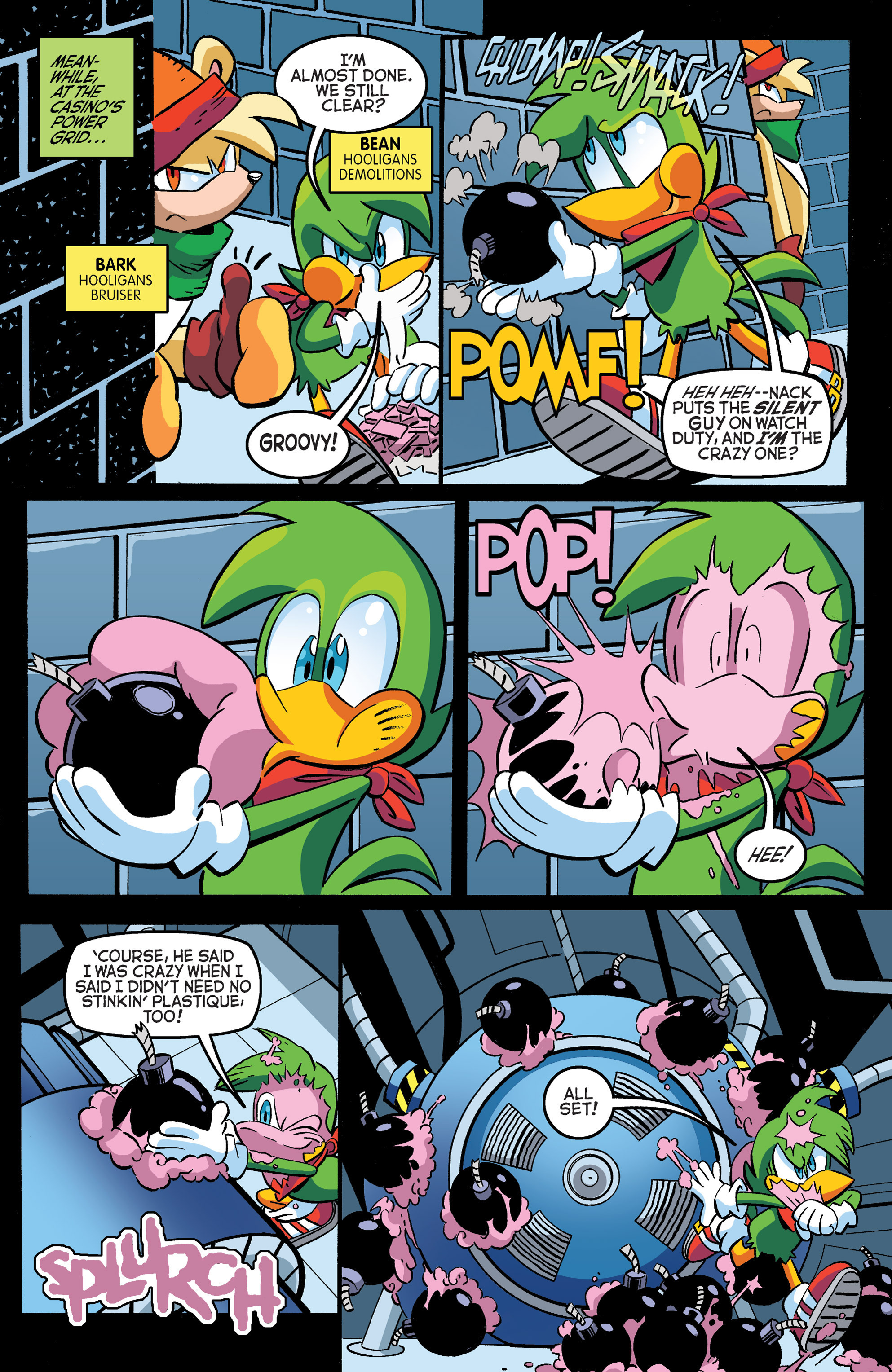 Read online Sonic The Hedgehog comic -  Issue #271 - 9
