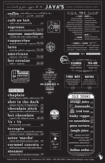 inspirace menu