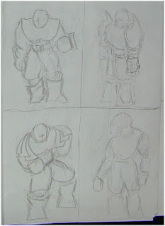 Fighters drawing