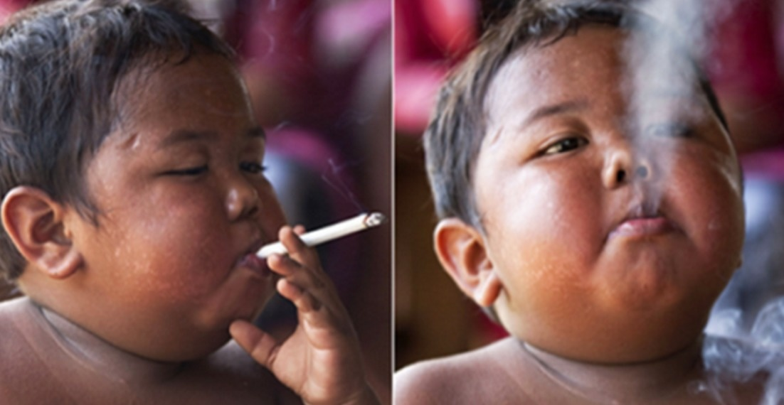 But Ardi's picture went viral two years ago, and it's not hard to see why. - Remember The Chain Smoking Baby? Look At What He's Doing Now.