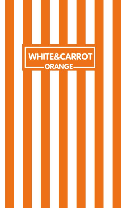 Carrot Orange & White Theme (JP)