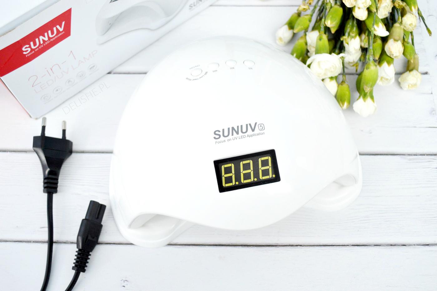 lampa do lakierów hybrydowych SunUV5 48W czy warto kupić