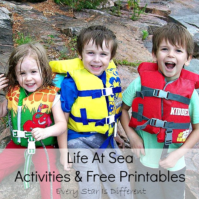 Life at Sea Activities and Free Printables