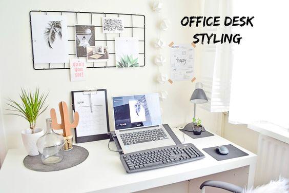 Jak udekorować swoje biurko?