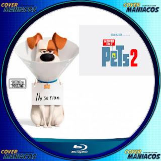 GALLETA LABEL LA VIDA SERCRETA DE TUS MASCOTAS 2-THE SECRET LIFE OF PETS 2 2019 [COVER BLU-RAY]