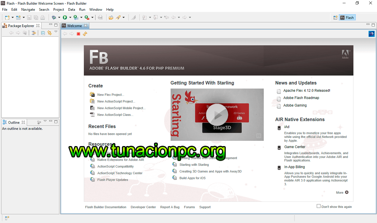 Adobe Flash Buldier v4.7