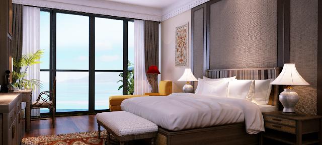 Phòng ngủ dự án Beau Rivage 40 Trần Phú