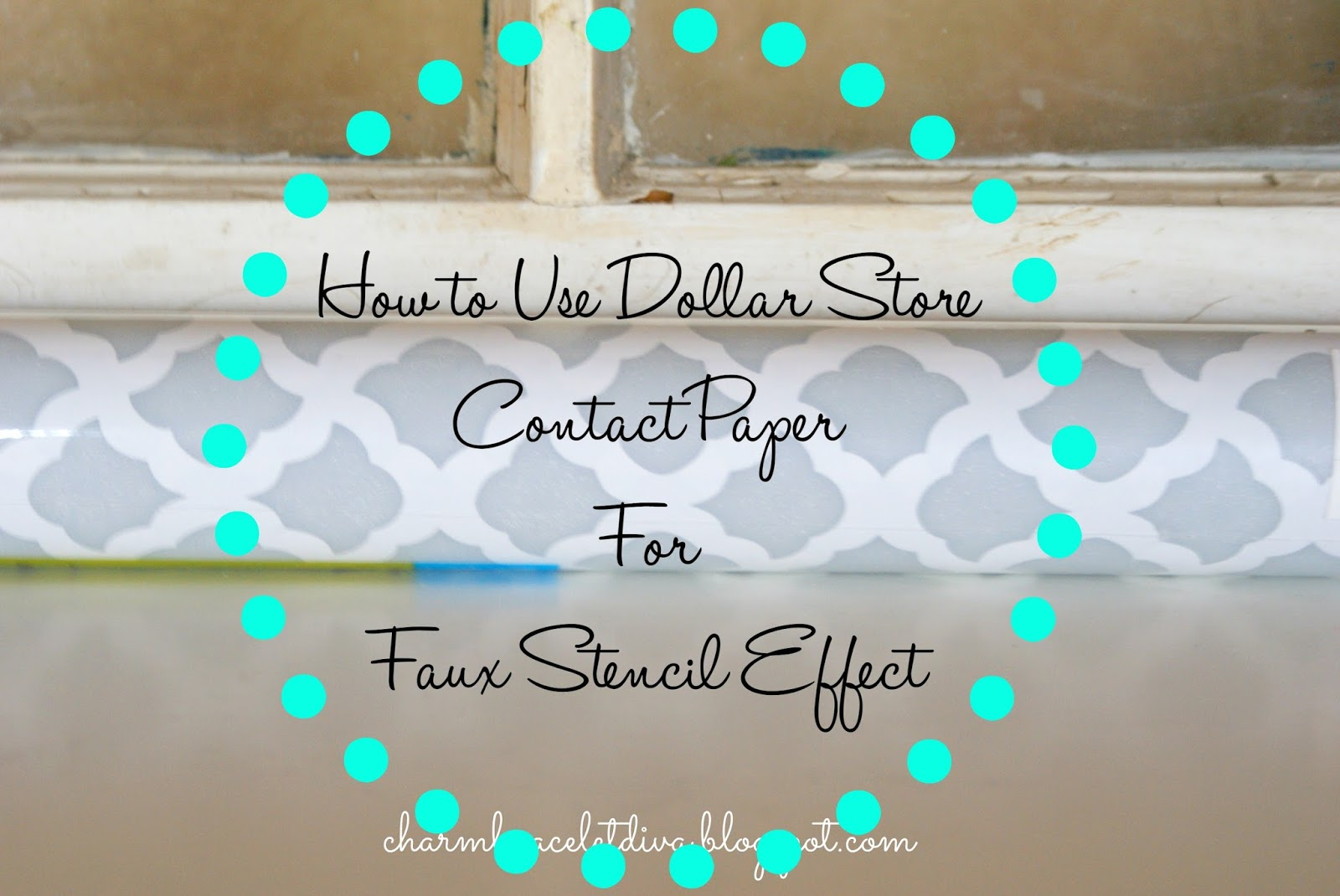Our Hopeful Home: How To Use Dollar Store Contact Paper ...
