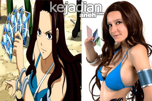 cewek anime 7 Wanita Tercantik Dalam Anime Manga Fairy Tail