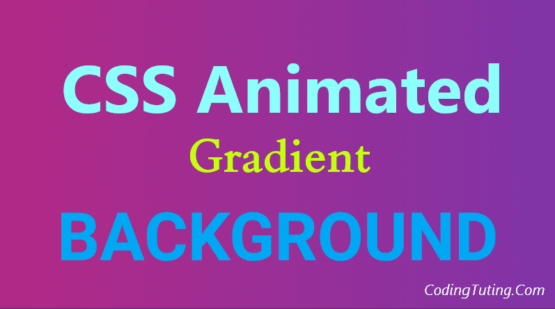 Animated Background using CSS