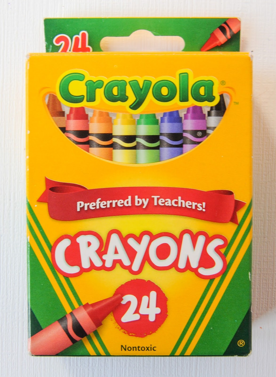 24 count crayola crayons what s inside the box jenny s crayon