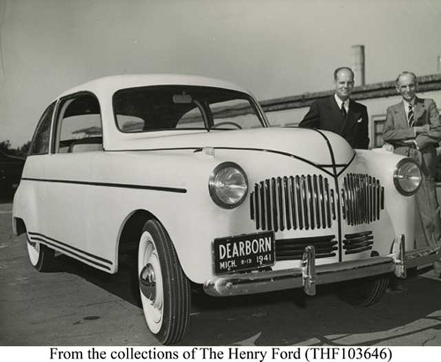 The Henry Ford soybean car, which receives its patent on 13 January 1942 worldwartwo.filminspector.com