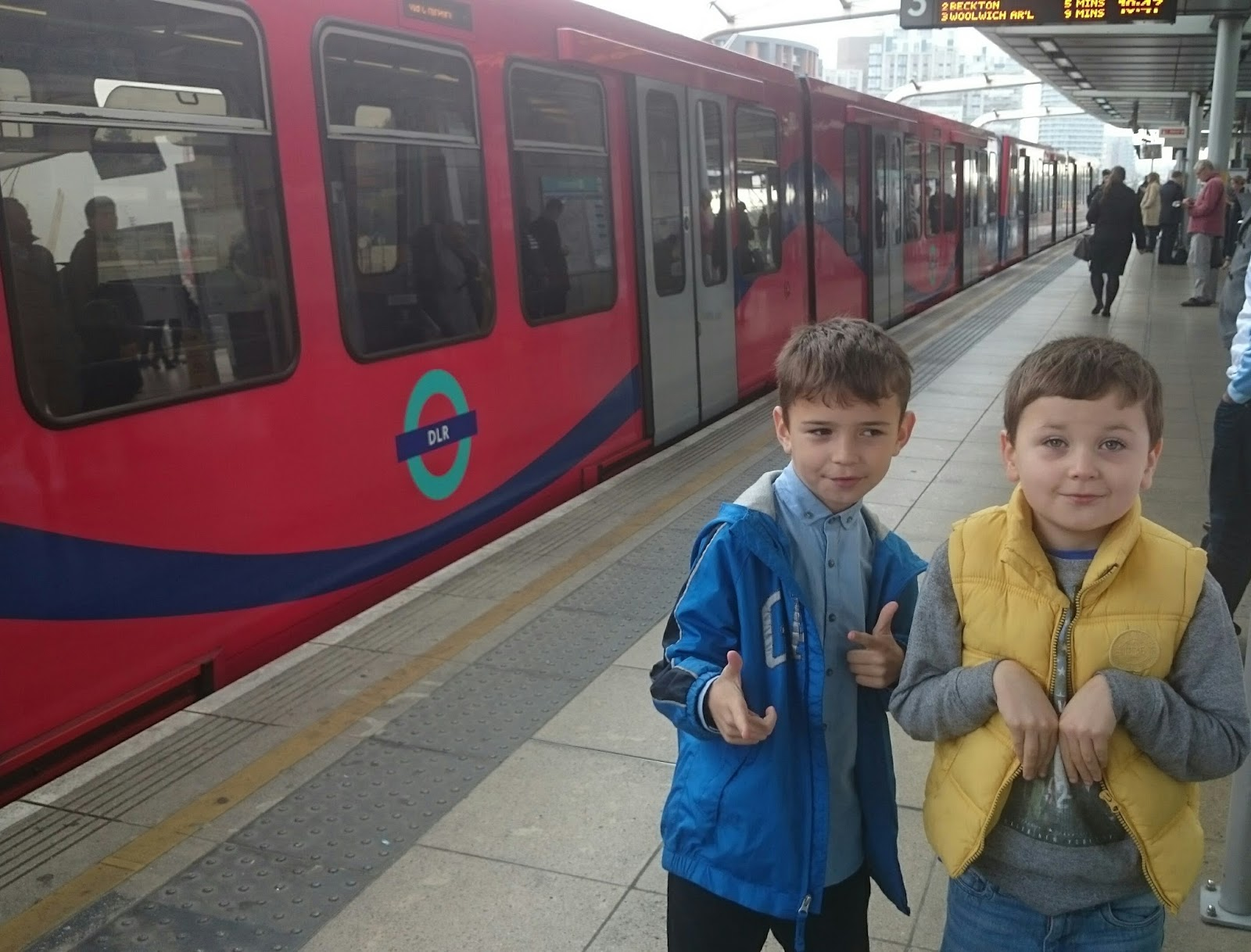As a family i take my sons with me everywhere on public transport they are well travelled tubers and enjoy adventure people watching and goofing on the