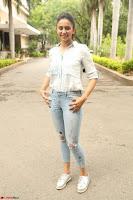 Rakul Preet Singh in Jeans and White Shirt At Jaya Janaki Nayaka le Logo Launch ~  Exclusive 042.JPG