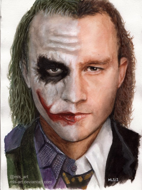 02-Joker-Heath-Ledger-Martin-Lynch-Smith-MLS-art-Celebrity-Drawings-www-designstack-co