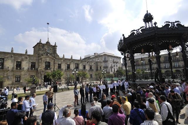 Entrega Aristóteles un Centro Histórico renovado