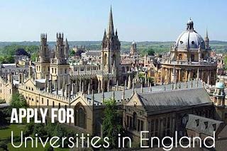 Applying for universities in England?