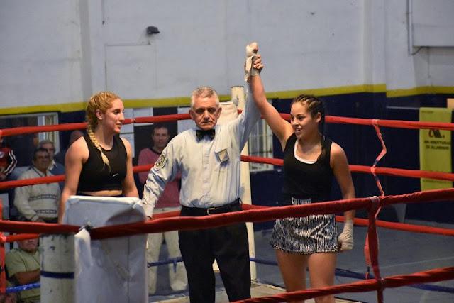 Festival de boxeo en Valle Hermoso (audio)