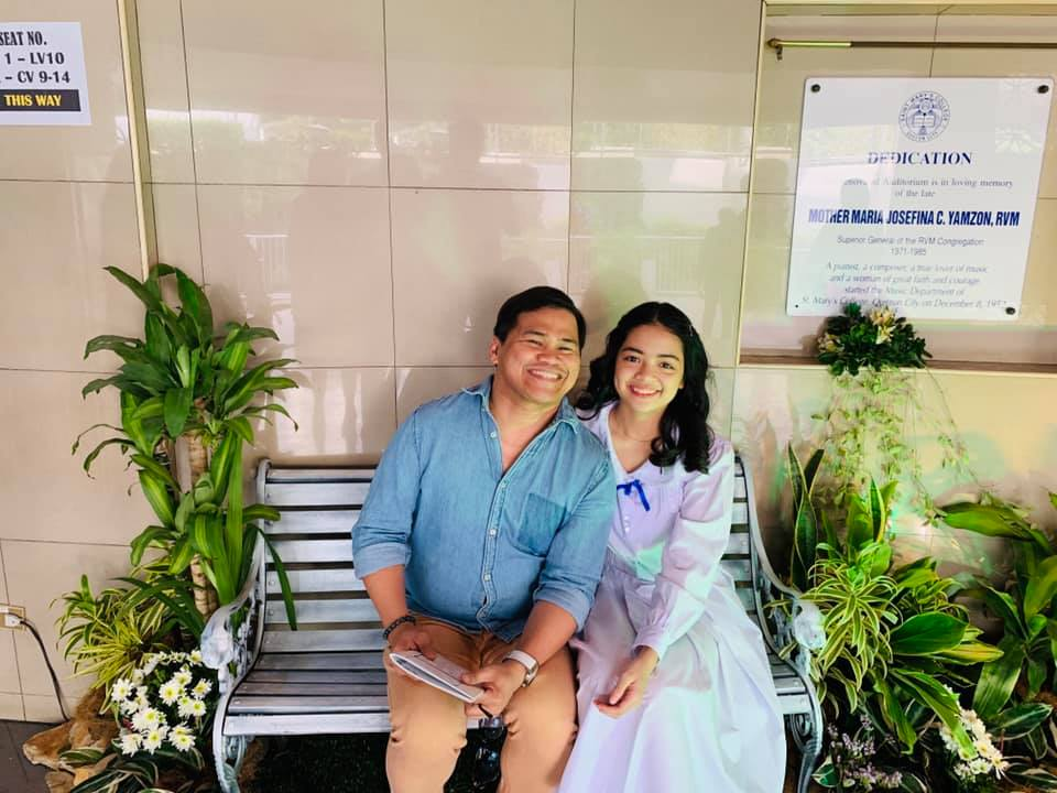 Ogie Diaz shares touching message for daughter who graduated without honors