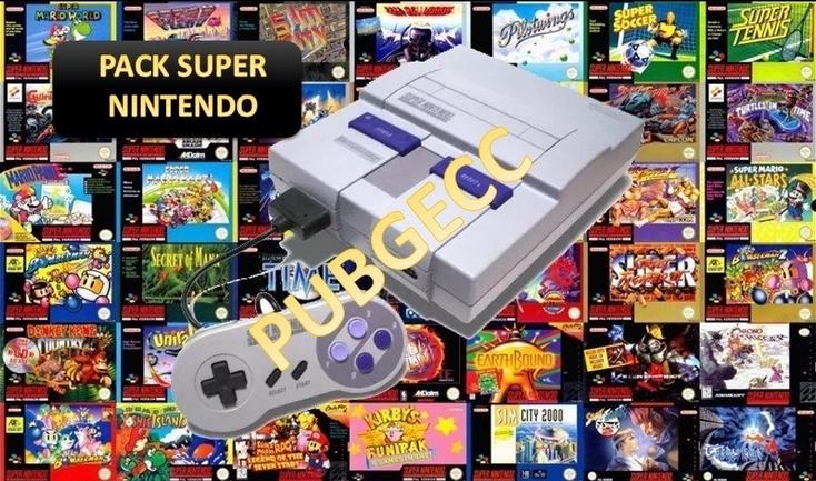 Pack De 117 Juegos De Super Nintendo Espanol Zs Mega Mundoz