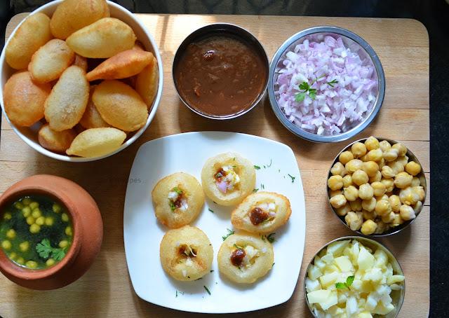 Golgappa (pani puri)  Recipe