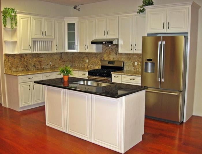 Armoire de cuisine couleur erable - Peinture d armoire de cuisine ...
