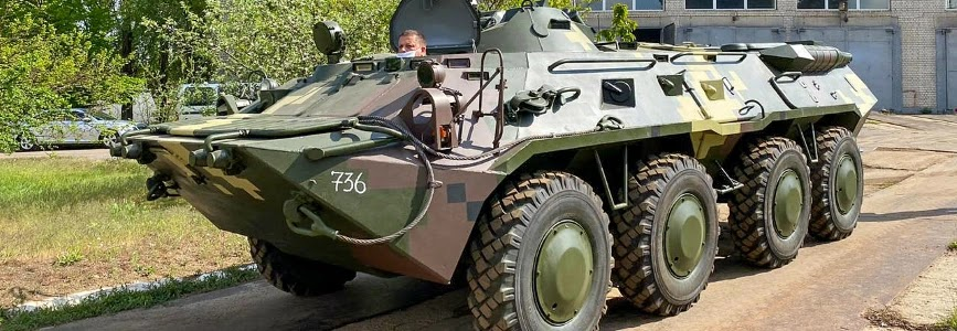 BTR-80 APCs handed over to Ukrainian Army