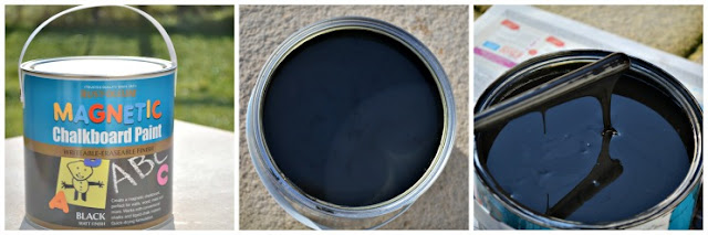 Magnetic chalkboard paint @ ups and downs smiles and frowns