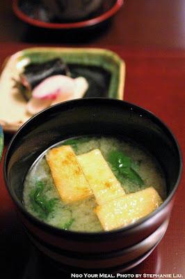 Miso Soup at Ginza Kojyu in Tokyo, Japan