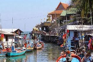 Hafen Khao Tao bei Hua Hin