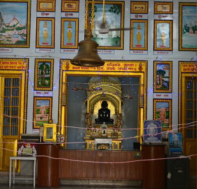 Inside Jain Temple, Sarnath