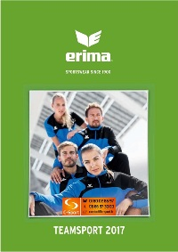 Catalogue Erima 2017