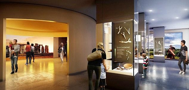 Inside Stonehenge Exhibition