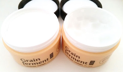 2 cleanser sherbets, one in use and one new