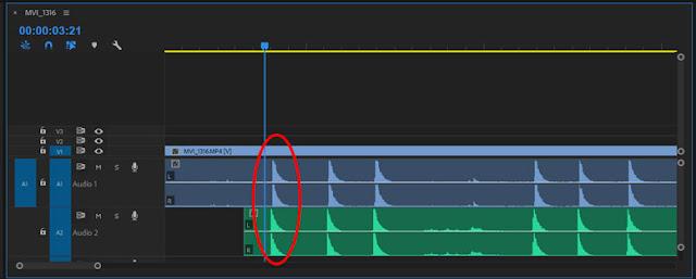 كيف مزامنة الصوت مع الفيديو باستخدام أدوبي بريمير