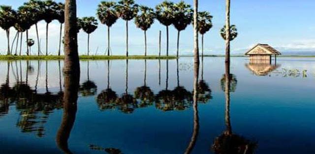 danau tempe wajo sulawesi selatan