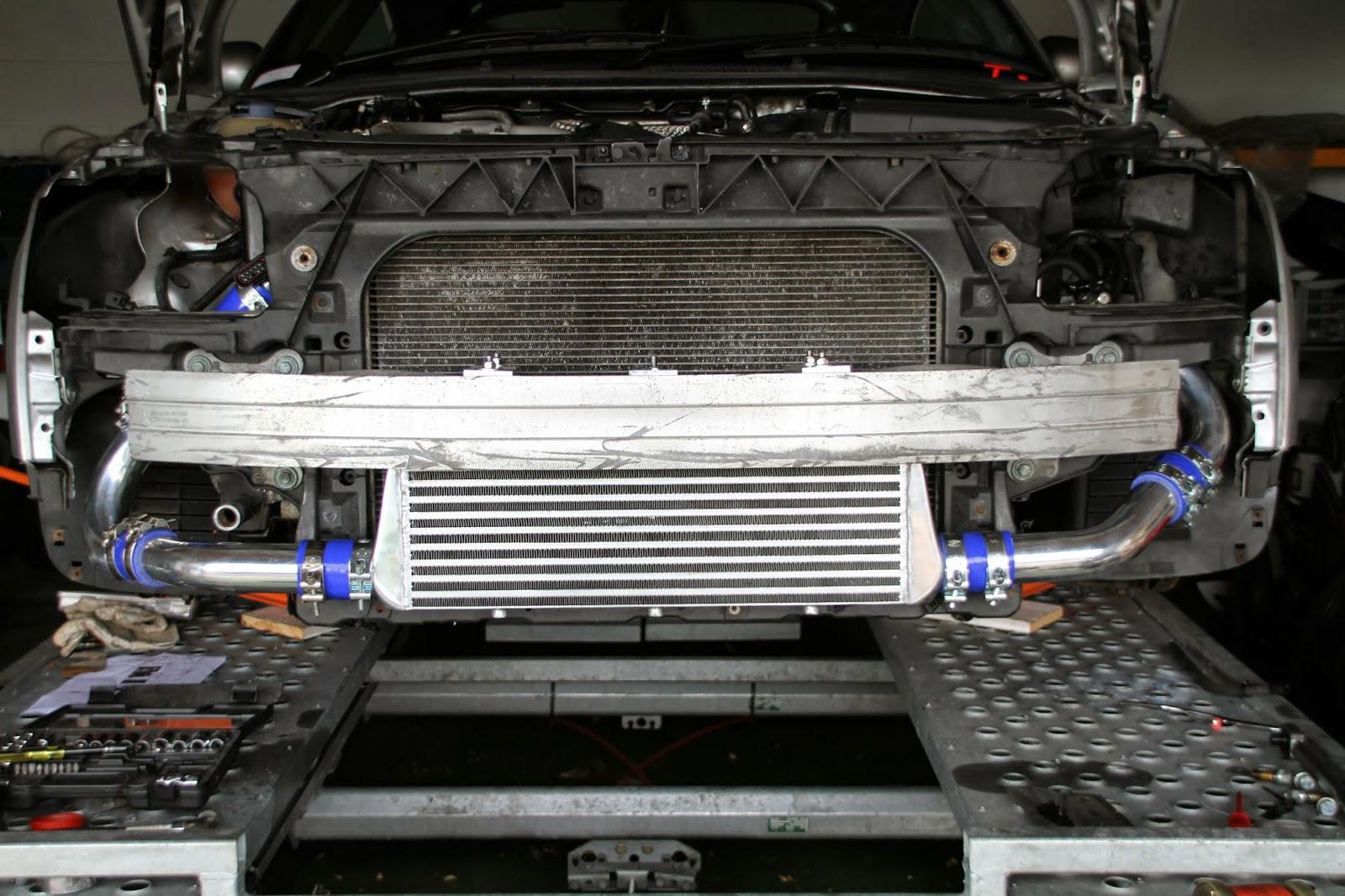 Audi Tt Race Car Project New Front Mounted Intercooler Fmic