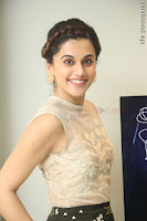Taapsee Pannu in transparent top at Anando hma theatrical trailer launch ~  Exclusive 035.JPG