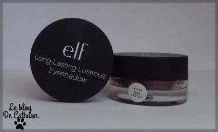 ELF - Long Lasting Lustrous Eyeshadow - fards à paupières crèmes